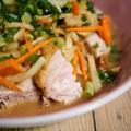 ほったらかしチキンのサラダ【#簡単レシピ #さっぱり #ダイエット #おうちごはん】