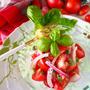 【玉ねぎにもグルタミン酸❓】ザクザクトマトのうま味バジルマリネ