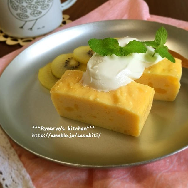 *【レシピ】さつま芋と水切りヨーグルトのケーキ*
