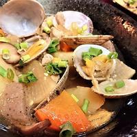 【レシピ】風味抜群★絶品★コク旨★豚汁アレンジ9【アサリの味噌バター豚汁】