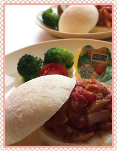 偏食チビ太も完食!オススメ♡イタリアの屋台の味を楽しむサンドイッチのワンプレート
