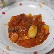 ニョッキのトマト煮