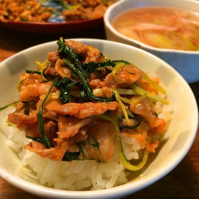 のっけ飯(料理&お弁当部門)