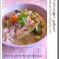 セロリと干し椎茸の海鮮だし雑炊 by 庭乃桃さん