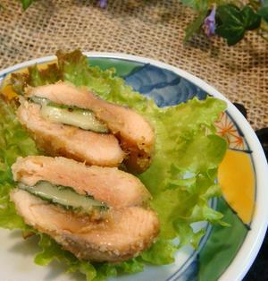 鮭の大葉チーズフライ