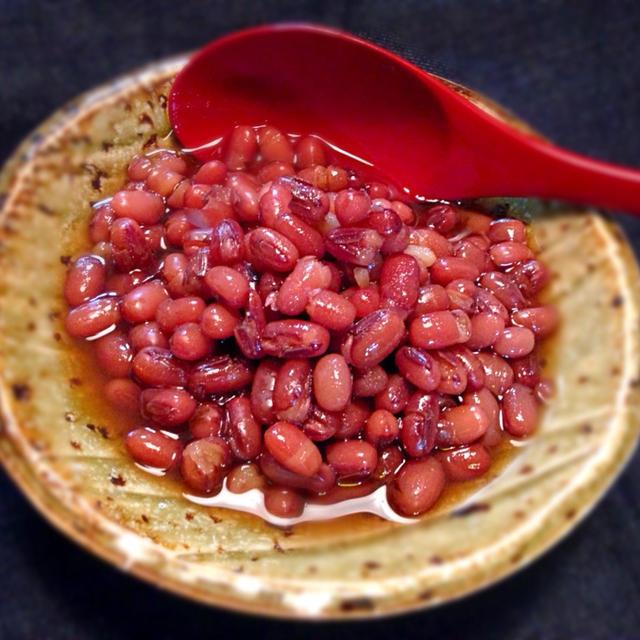真の時短!「小豆」料理