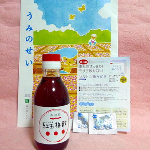 しおからすっぱ〜い 紅玉梅酢