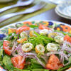 空芯菜のエスニック風サラダ