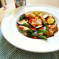 鶏もも肉と夏野菜のオーブン焼き