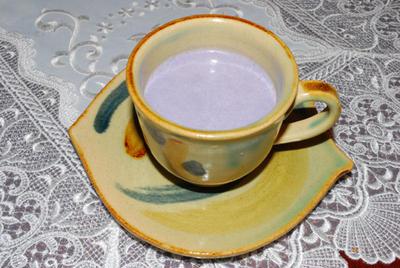 むらさき芋のスープ
