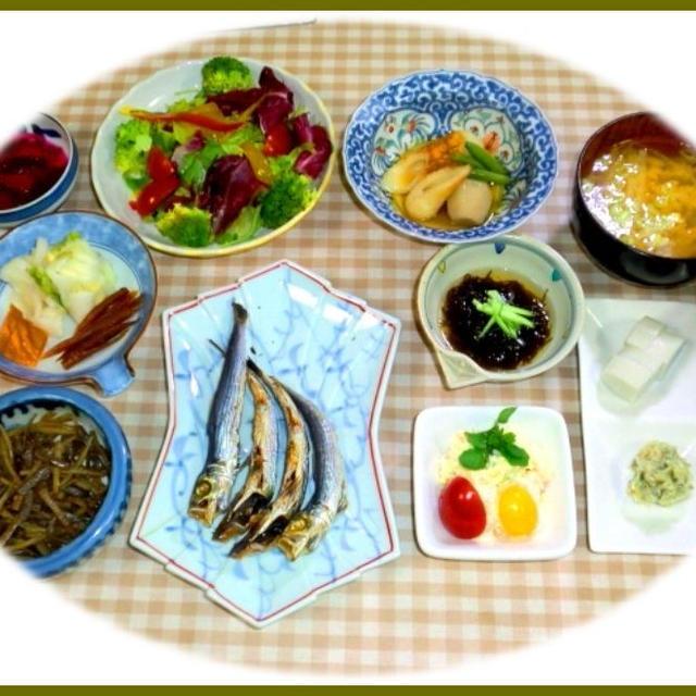今日の朝定食