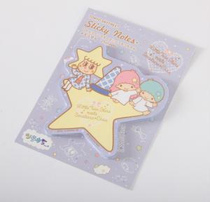 キキ&ララとソラカラちゃんの可愛いイラスト入り!<br><br>貼ってはがせる星型のふせんが、たっぷ...