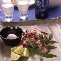 塩とすだちで食べる 牛肉のステーキ 澪と楽しむパーティレシピ