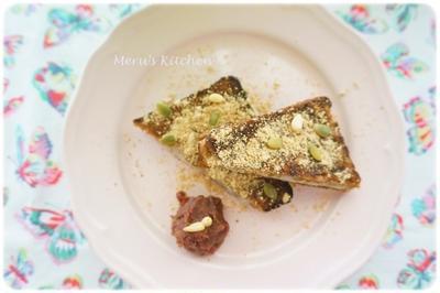 【レシピ】きなこ餅サンド