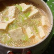 プチプチたらこの花椒塩麻婆豆腐