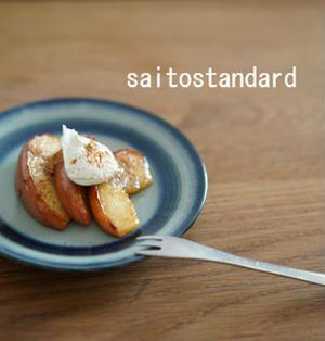 ♪焼きりんご クリームチーズ添え