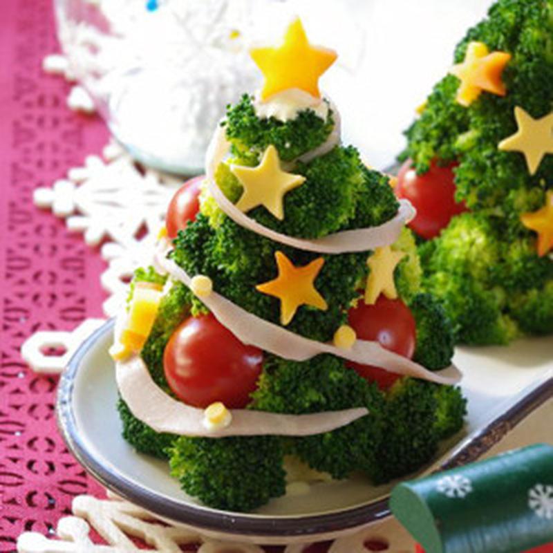 飾るだけじゃない!丸ごと全部食べられるクリスマスツリーのアイデアレシピ