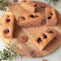 ホケミで簡単★栗のスティックケーキ