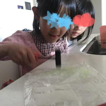 【登園自粛中〜ステンドグラスクッキー作り】