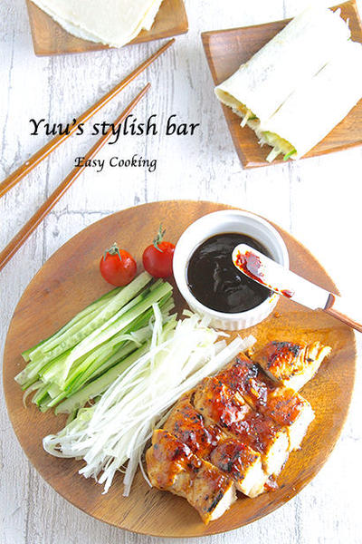 【Nosh連載】フライパン1つで簡単♡「鶏むね肉 de 北京ダック風」《おもてなしレシピ#9》