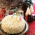 【レシピ】ホワイトチョコとフランボワーズのクリスマスデコレーションケーキ♪