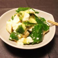リケン セレクティ たたききゅうりとくずし豆腐のじんわり生姜和え