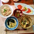 『竹の子づくし』 牛肉と竹の子の炊いたん~竹の子のレモニーセージサラダ by mayumiたんさん