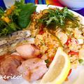 魚介たっぷりペルーのご馳走ごはん、アロス・コン・マリスコス~Arroz con mariscos~ by quericoさん