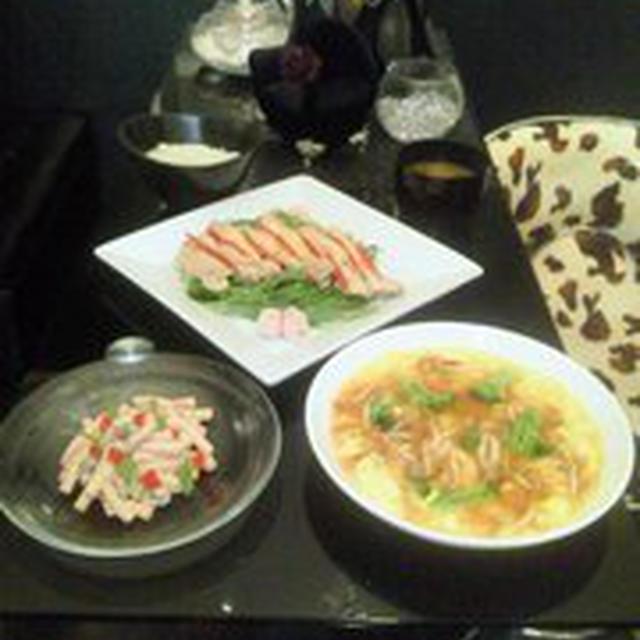 炊飯器DE★ヘルシー蒸し鶏