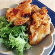 [簡単*主菜*お弁当]漬けて焼くだけ!鶏肉の味噌マヨ焼き