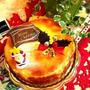 Xmas ベイクドチーズケーキ