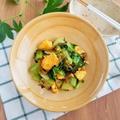 チンゲン菜と卵の高菜炒め
