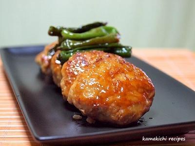 シャキシャキ鶏ハンバーグの照り焼き&「キッチンリフォーム」