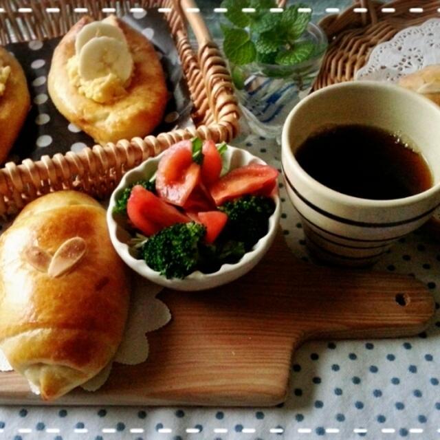 甘~いパンが食べたい気分♡1時間で出来るデニッシュパンをアレンジしてみました(///ω///)♪