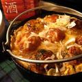 たこ焼きの卵とじ煮