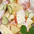■副菜【赤大根と林檎タップリのジューシー!ヘルシー!サラダ】箸が止まらない美味しさです♪