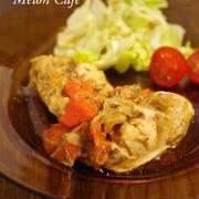 鶏肉のグリル風フライパンソテー☆「料理スパイスでお料理上手 アツアツがおいしい♪グリル&煮込み料理」