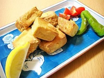 香る☆高野豆腐の唐揚げ