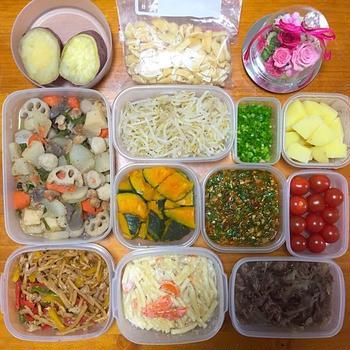 5月8日【作り置き 常備菜 】ニラだれ,青椒肉絲 レシピあります
