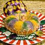 マルディグラには【キングケーキ】KING CAKEをお忘れなく! by Little Darling (佐々木 美恵)