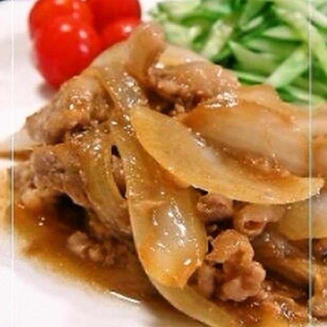 豚の生姜焼き・ゴーヤ・かぼちゃ