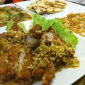 カリカリジュワ~の油淋鶏(ユーリンチー)
