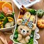 《キャラ弁》プリンちゃんのハロウィンのお弁当♡作り方♡アイリスオーヤマ様より
