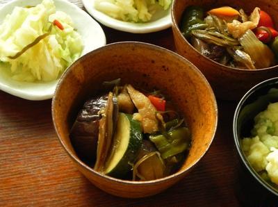 和風ラタトゥイユ 夏野菜の田舎煮