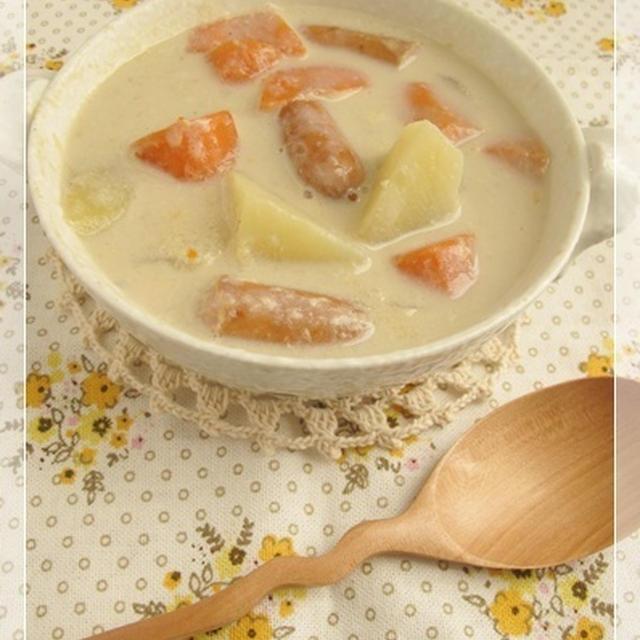 豆乳生姜風味の野菜シチュー