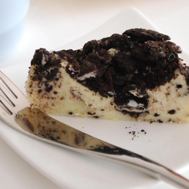 濃厚オレオチーズケーキ