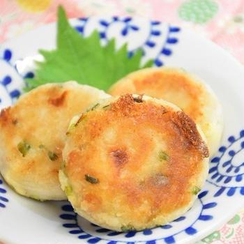 【レシピ】里芋とツナの焼きチーズコロッケ風