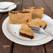 【レンジ&タッパー使って簡単】カフェオレのほろ苦ケーキ