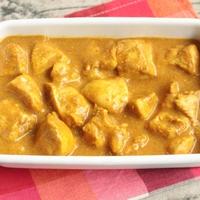 鶏ムネ肉やわらかタンドリーチキンカレーの簡単レシピ。ルウ不要の作り方。