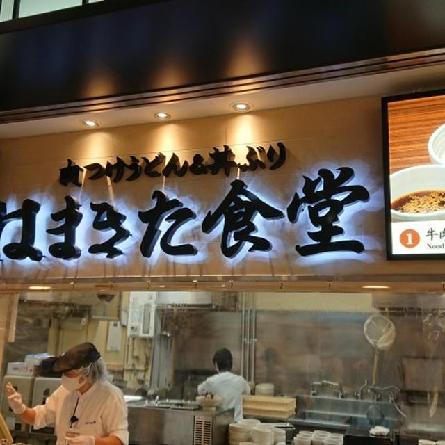 新東名高速道路NEOPASA浜松上り線・はまきた食堂、「遠州夢の夢ポーク」を使った豚肉つけうどん
